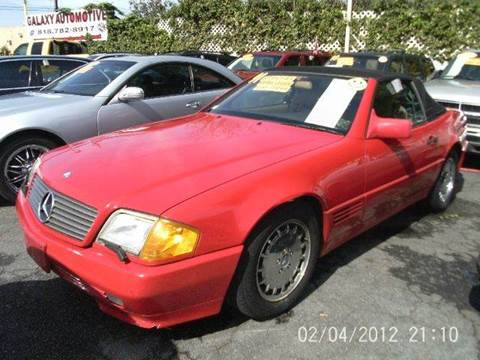 1991 Mercedes-Benz 500-Class for sale at I C Used Cars in Van Nuys CA