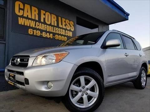 2007 Toyota RAV4 for sale in La Mesa, CA