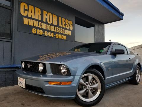 2006 Ford Mustang for sale in La Mesa, CA