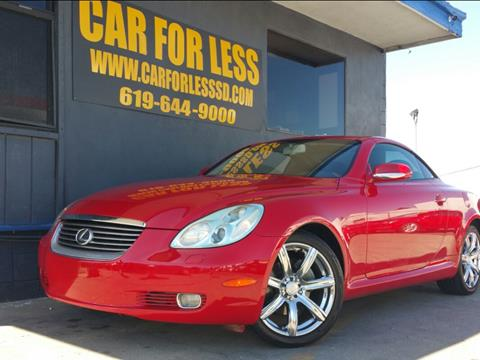 2002 Lexus SC 430 for sale in La Mesa, CA