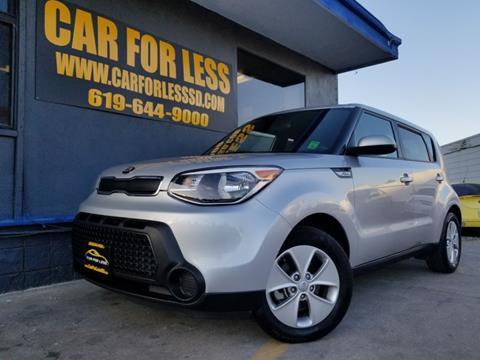 2015 Kia Soul for sale in La Mesa, CA