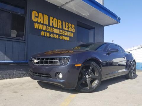 2013 Chevrolet Camaro for sale in La Mesa, CA