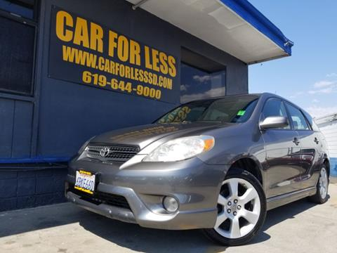 2008 Toyota Matrix for sale in La Mesa, CA