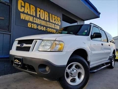 2004 Ford Explorer Sport Trac for sale in La Mesa, CA