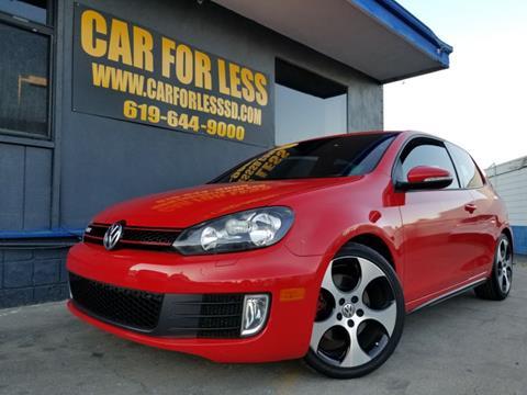 2011 Volkswagen GTI for sale in La Mesa, CA
