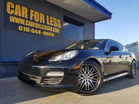 2011 Porsche Panamera for sale in La Mesa, CA