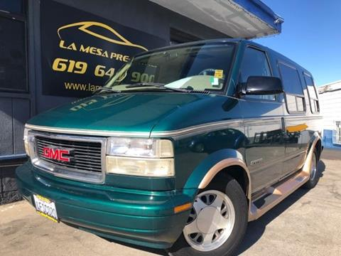1999 GMC Safari for sale in La Mesa, CA