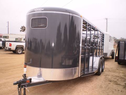 2018 Calico STOCK TRAILER -  for sale in Lampasas, TX