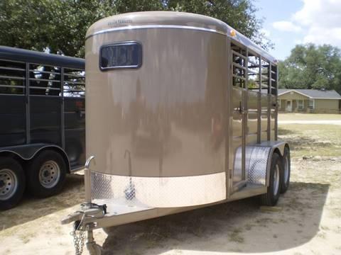2018 Calico 2 HORSE SLANT HORSE TRAILER - for sale in Lampasas, TX