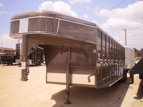 2018 Calico GOOSENECK DEER TRAILER -  for sale in Lampasas, TX
