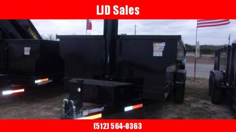 2020 U.S. Built 7' X 16' X 3' for sale at LJD Sales in Lampasas TX