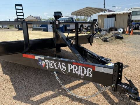 2021 TEXAS PRIDE  - Equipment 83x20 - 16 K GVWR for sale at LJD Sales in Lampasas TX