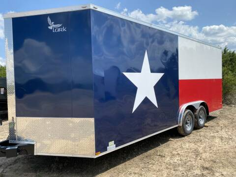 2020 Lark -  TEXAS FLAG CARGO 8.5 X 20 X for sale at LJD Sales in Lampasas TX