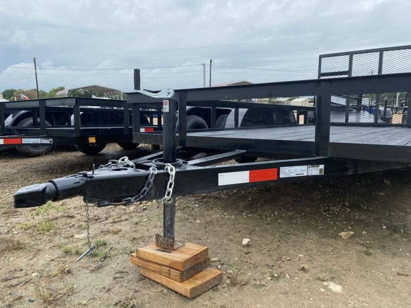 """2020 P & C  - UTILITY 77"""" X 16' for sale at LJD Sales in Lampasas TX"""