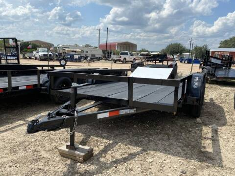 """2020 P & C  - UTILITY 77"""" X 12' - GA for sale at LJD Sales in Lampasas TX"""