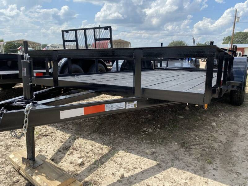 """2020 P & C - UTILITY 77""""X16' - IN- O for sale at LJD Sales in Lampasas TX"""