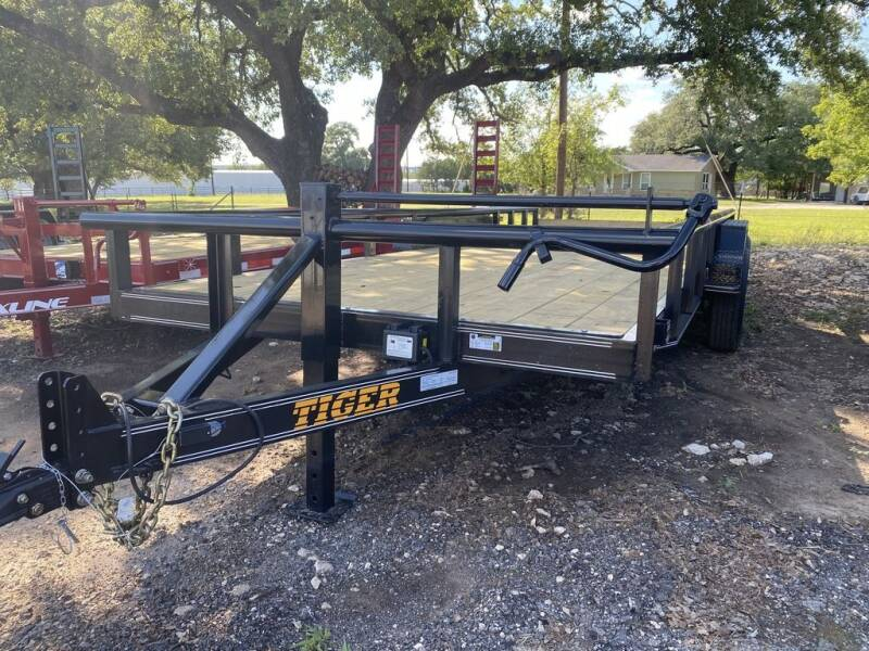 """2020 TIGER - Equipment 83"""" x 20' - 1 for sale at LJD Sales in Lampasas TX"""