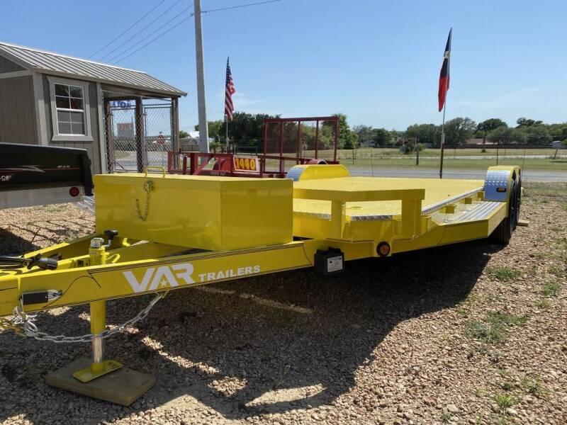 2021 VAR  - Car Hauler Deluxe - 5200 LB for sale at LJD Sales in Lampasas TX