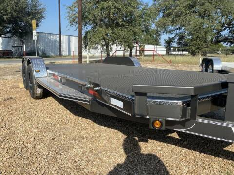 "2021 VAR  Car Hauler Deluxe 22"" -  for sale at LJD Sales in Lampasas TX"