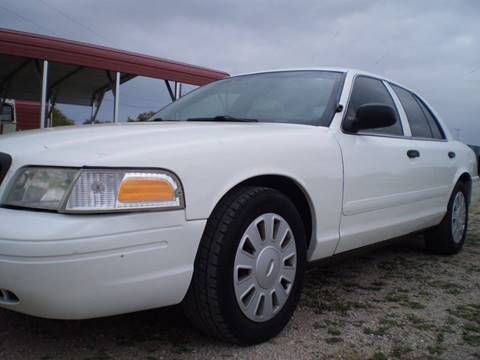 2008 Ford Crown Victoria for sale in Lampasas, TX