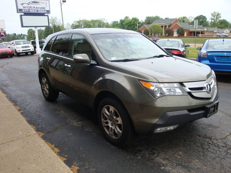 Acura Mdx SHAWD Dr SUV In Greenwood IN Widerange LLC - 2007 acura mdx sport shocks