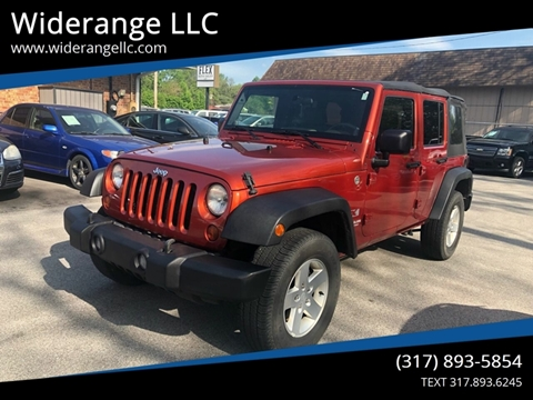2009 Jeep Wrangler Unlimited for sale in Greenwood, IN