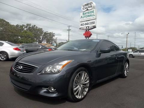 G37 Coupe For Sale >> Infiniti G37 Coupe For Sale In Lakeland Fl Bayside Automall