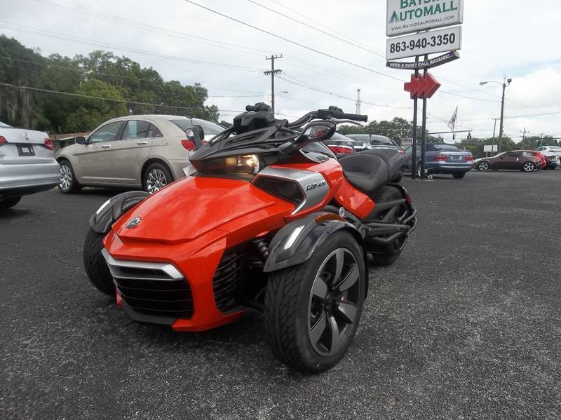 Can Am For Sale >> 2015 Can Am Spyder In Lakeland Fl Bayside Automall