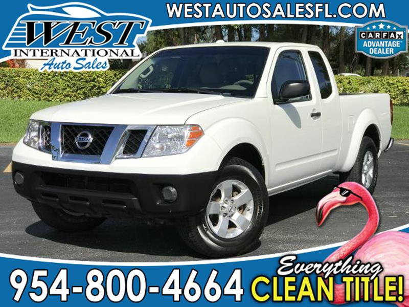 2013 Nissan Frontier 4x2 S 4dr King Cab 6.1 Ft. SB Pickup 5A   Miramar