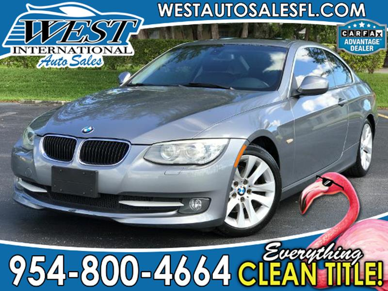 Bmw Series I Dr Coupe SULEV In Miramar FL West - 2011 bmw 328i coupe