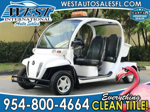 2011 GEM E4 for sale in Miramar, FL
