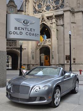 2012 Bentley Continental GTC for sale in Chicago, IL