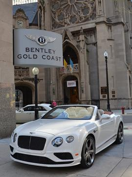 2017 Bentley Continental GTC Speed for sale in Chicago, IL
