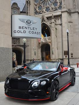 2017 Bentley Continental GTC V8 S for sale in Chicago, IL