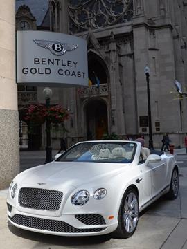 2017 Bentley Continental GTC V8 for sale in Chicago, IL