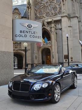 2013 Bentley Continental GTC V8 for sale in Chicago, IL