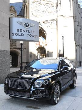 2018 Bentley Bentayga Mulliner Edition for sale at BENTLEY GOLD COAST in Chicago IL