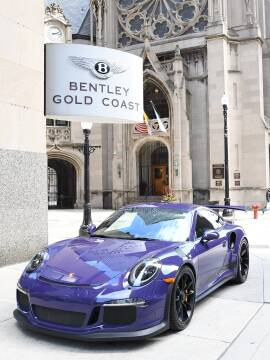 2016 Porsche 911 GT3 RS for sale at BENTLEY GOLD COAST in Chicago IL