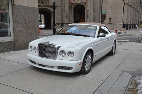 2008 Bentley Azure for sale at BENTLEY GOLD COAST in Chicago IL