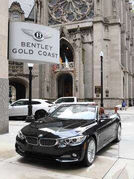 2015 BMW 4 Series 428i xDrive for sale at BENTLEY GOLD COAST in Chicago IL