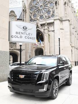 2019 Cadillac Escalade Premium Luxury for sale at BENTLEY GOLD COAST in Chicago IL