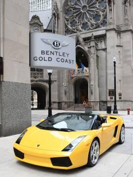 2008 Lamborghini Gallardo Spyder for sale at BENTLEY GOLD COAST in Chicago IL