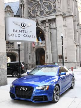 2014 Audi RS 5 quattro for sale at BENTLEY GOLD COAST in Chicago IL