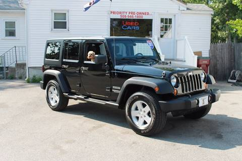 2011 Jeep Wrangler Unlimited for sale in Middleboro, MA