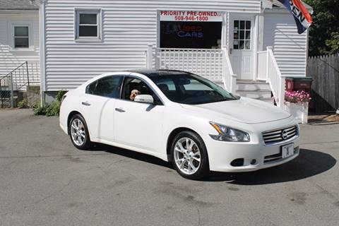 2012 Nissan Maxima for sale in Middleboro, MA