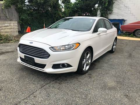2013 Ford Fusion for sale at Rockland Center Enterprises in Roxbury MA