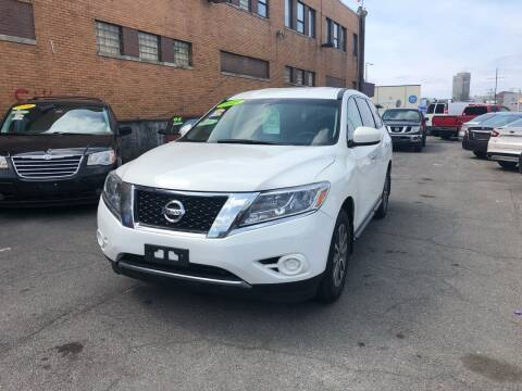 2013 Nissan Pathfinder for sale at Rockland Center Enterprises in Roxbury MA