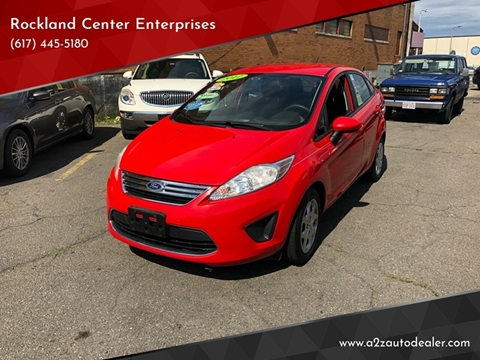 2012 Ford Fiesta for sale at Rockland Center Enterprises in Roxbury MA