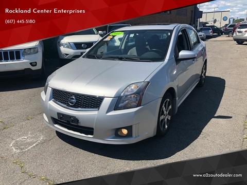 2012 Nissan Sentra for sale at Rockland Center Enterprises in Roxbury MA