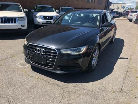 2014 Audi A6 for sale at Rockland Center Enterprises in Roxbury MA